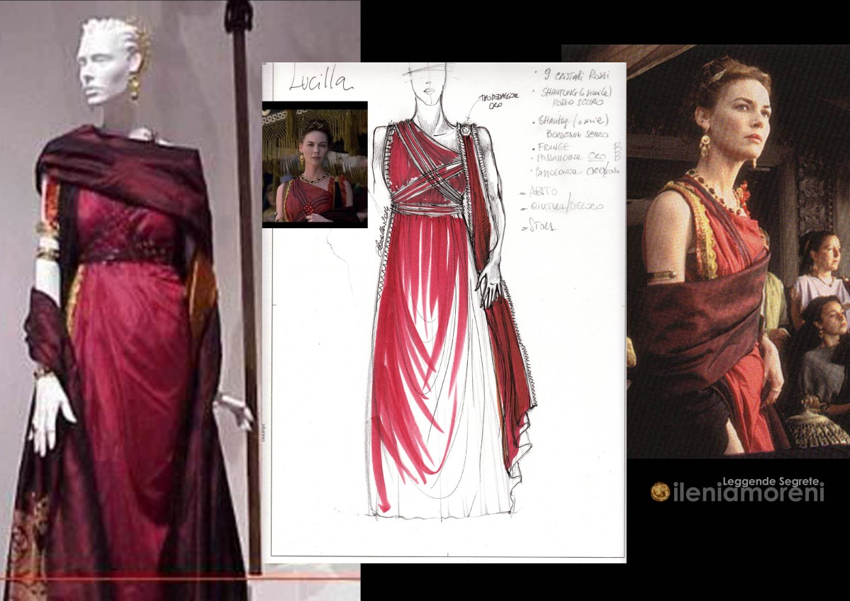 "Lucilla's Dress from ""Il Gladiatore"""