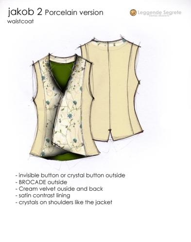jakob porcelain waistcoat
